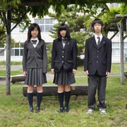 札幌平岸高等学校制服画像